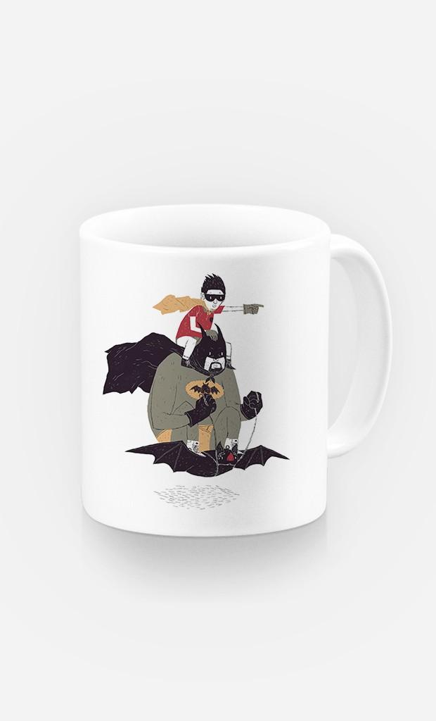 Tasse Batman et Robin