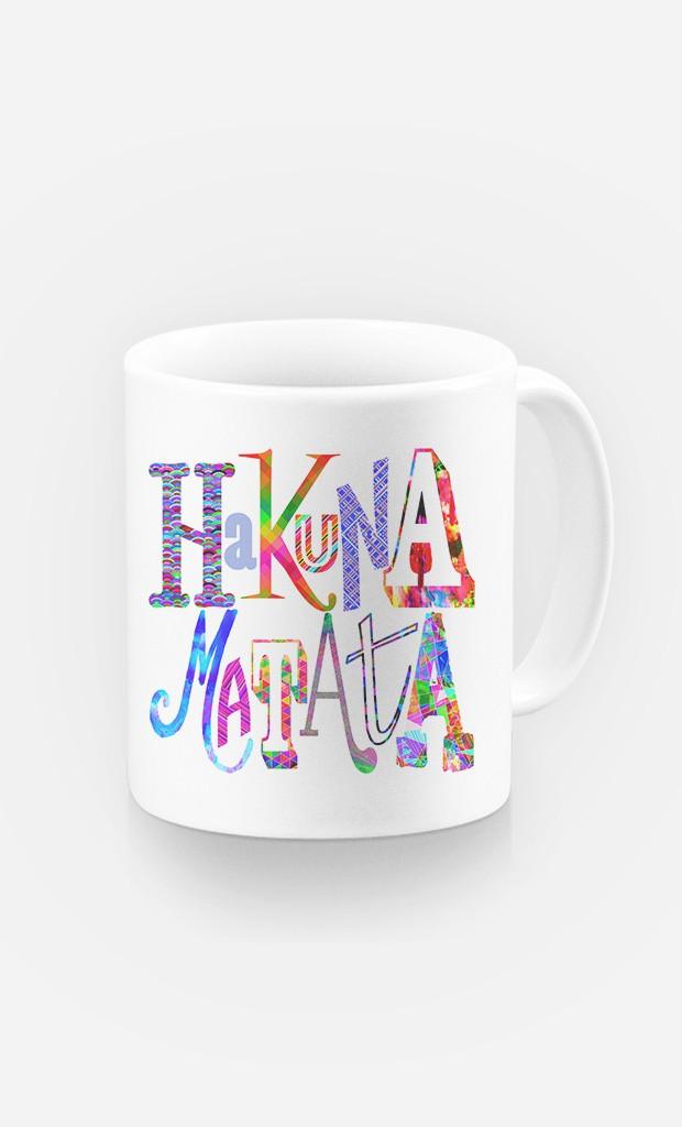 Tasse Hakuna Matata Color