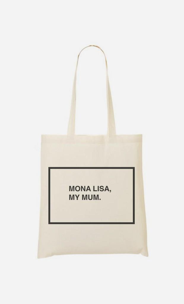 Stoffbeutel Mona Lisa My Mum