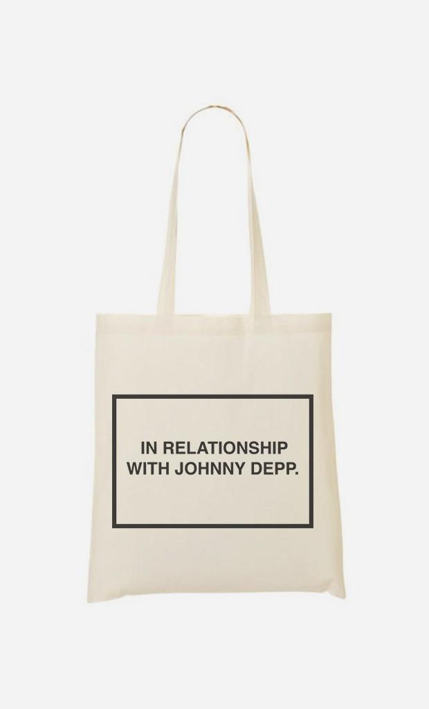 Stoffbeutel With Johnny Depp