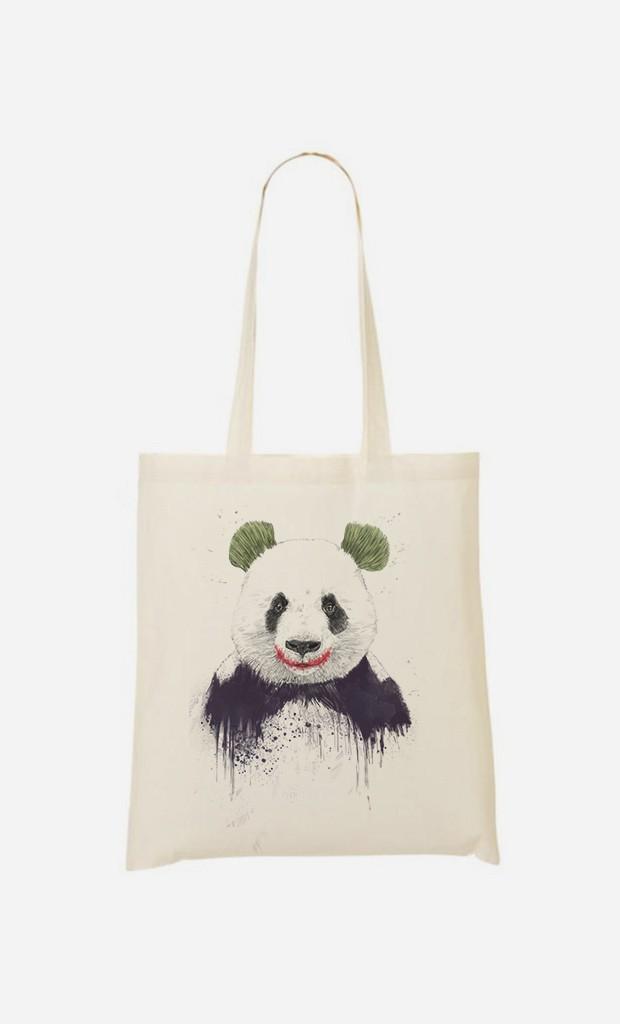 Stoffbeutel Joker Panda