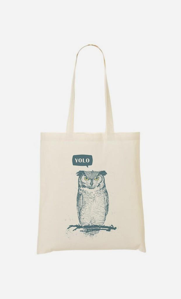 Stoffbeutel Yolo Owl