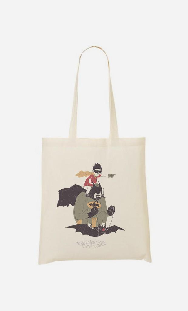 Stoffbeutel Batman & Robin