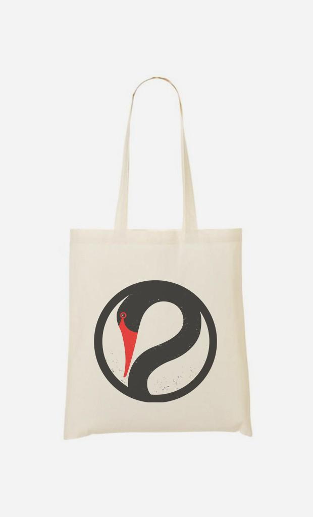 Stoffbeutel Peaceful Swan