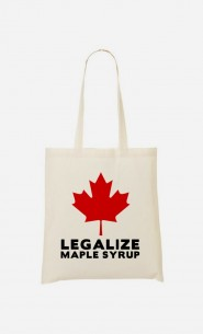 Stoffbeutel Canada Legalized