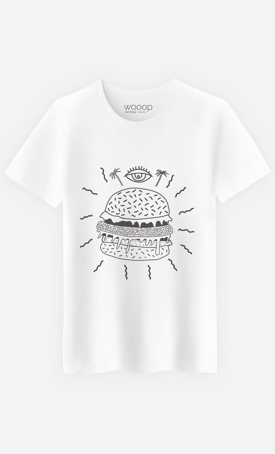 T-Shirt Burger Punk