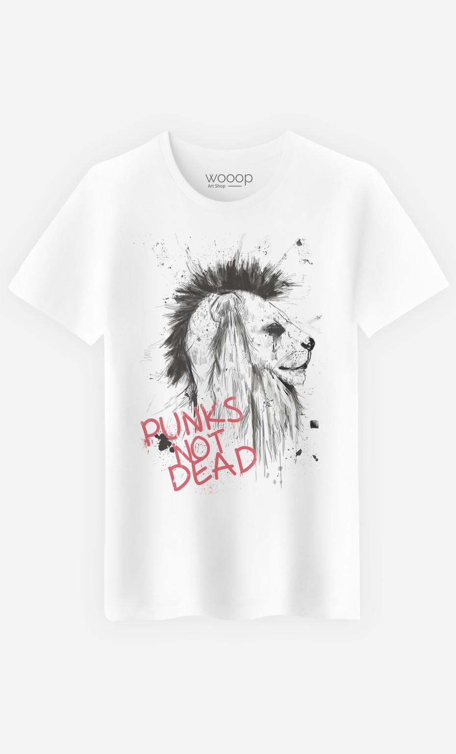 T-Shirt Punk's Not Dead