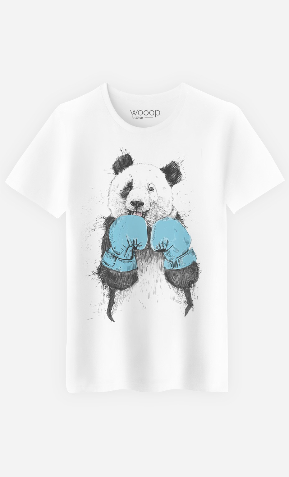"T-Shirt Fashion ""The Winner Panda"""