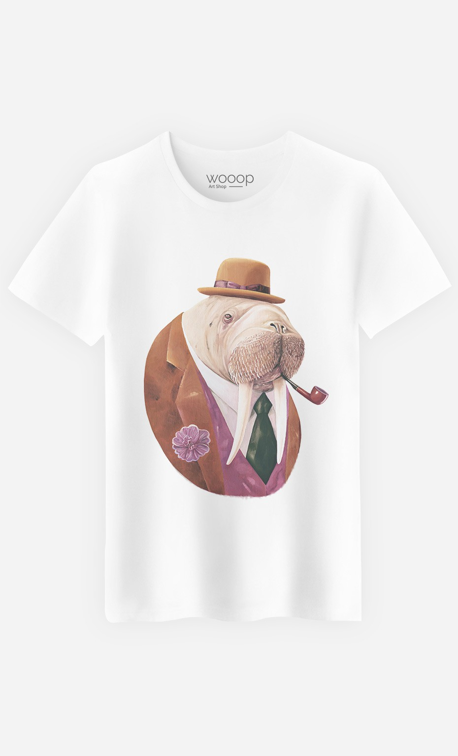 T-Shirt Monsieur Walrus
