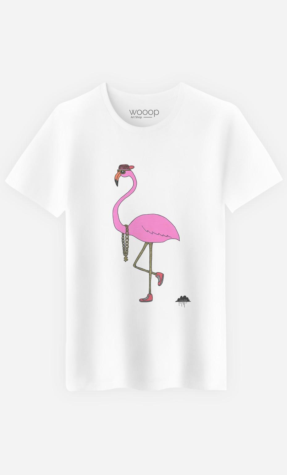 T-Shirt Frederick The Flamingo