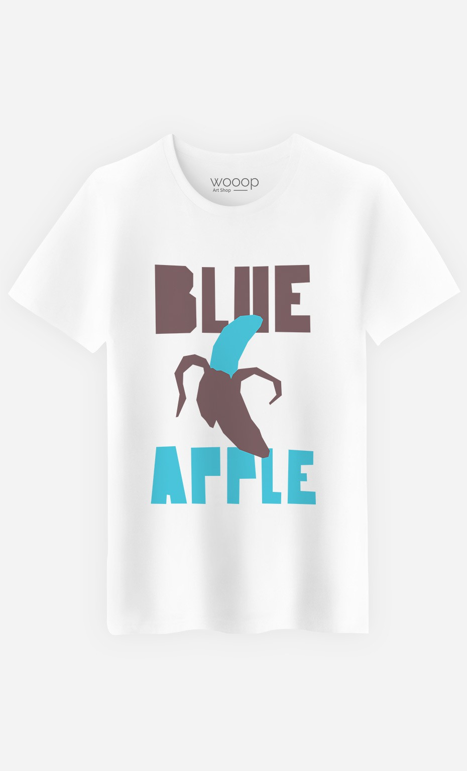 T-Shirt Blue Orange
