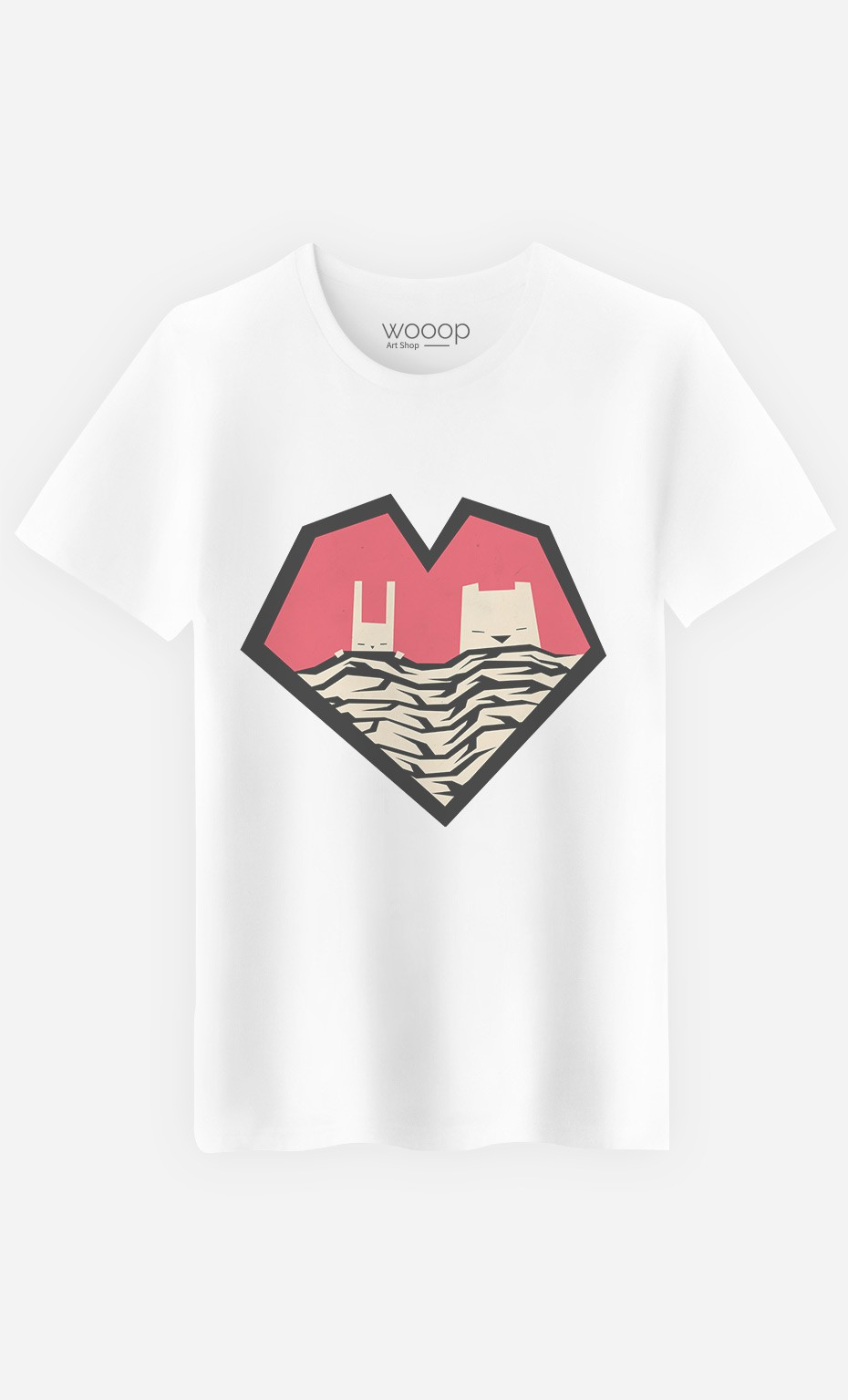 T-Shirt Sleeping Couple