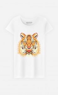 T-Shirt Geo Tiger