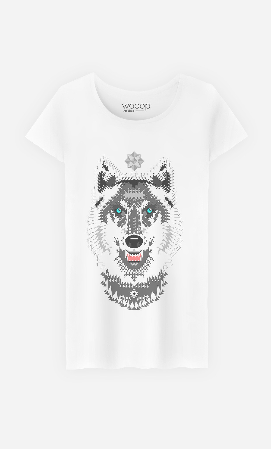 T-Shirt Silver Wolf