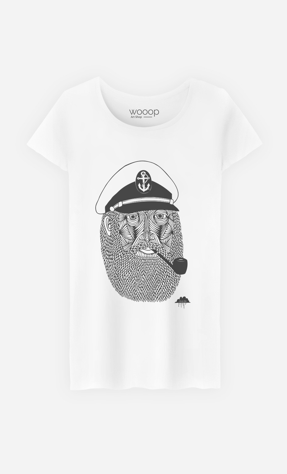 T-Shirt Captain Monkey