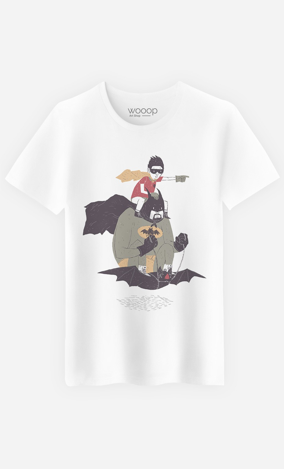 T-Shirt Batman & Robin