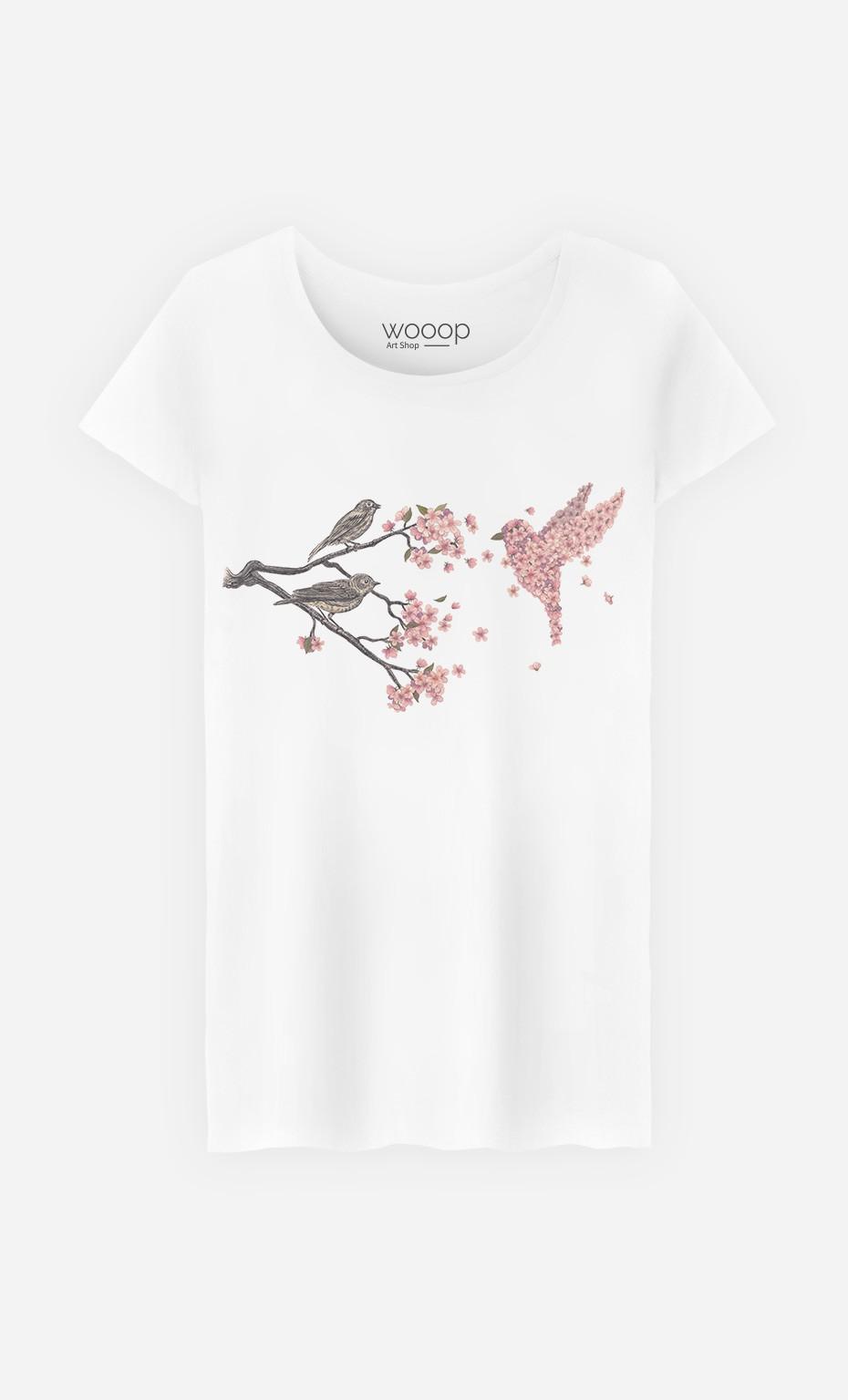 T-Shirt Blossom Bird