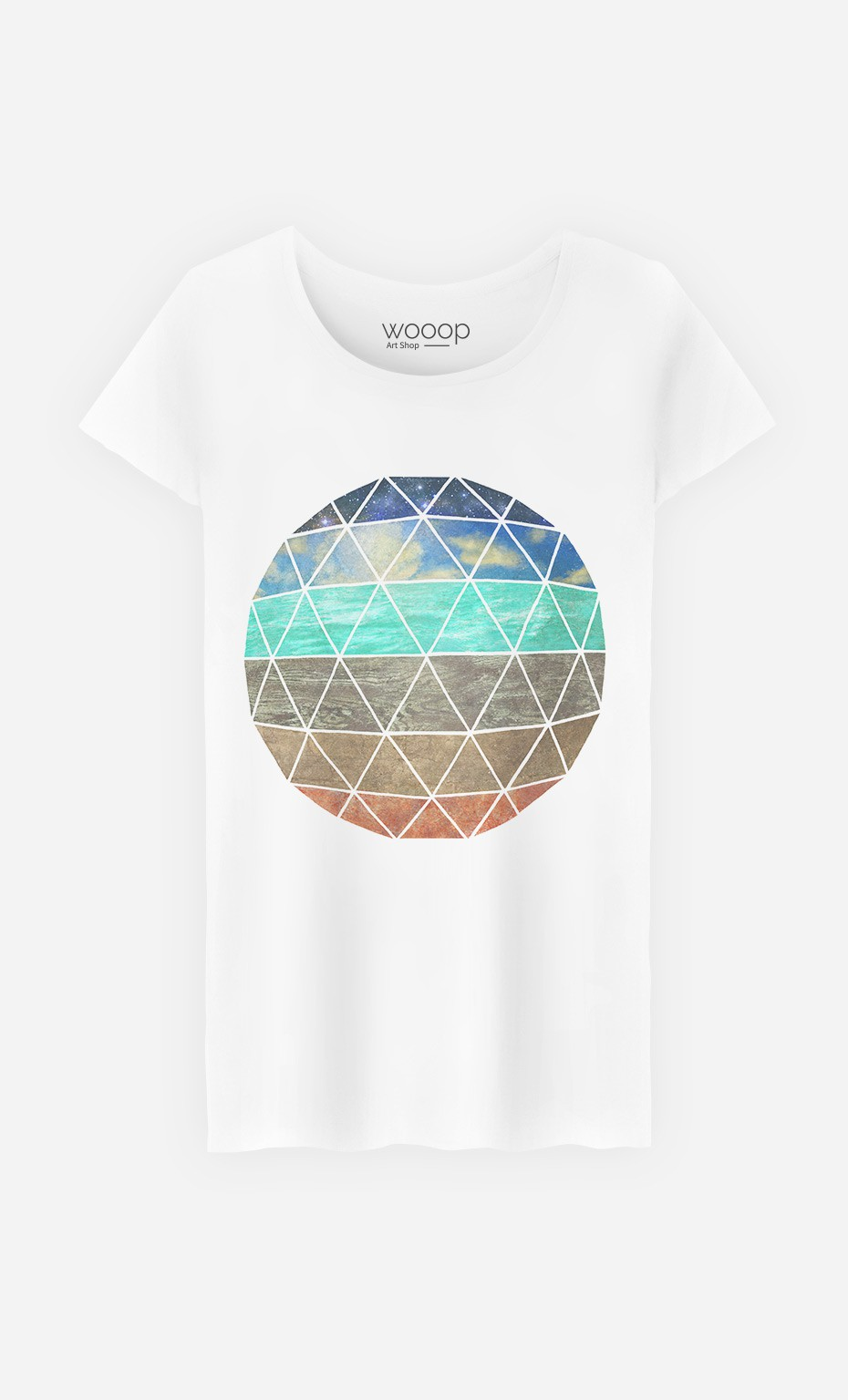 T-Shirt Elemental Geodesic