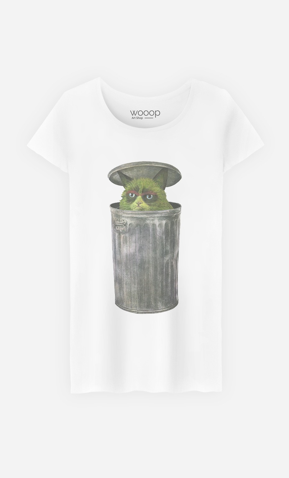 T-Shirt Grouchy Cat