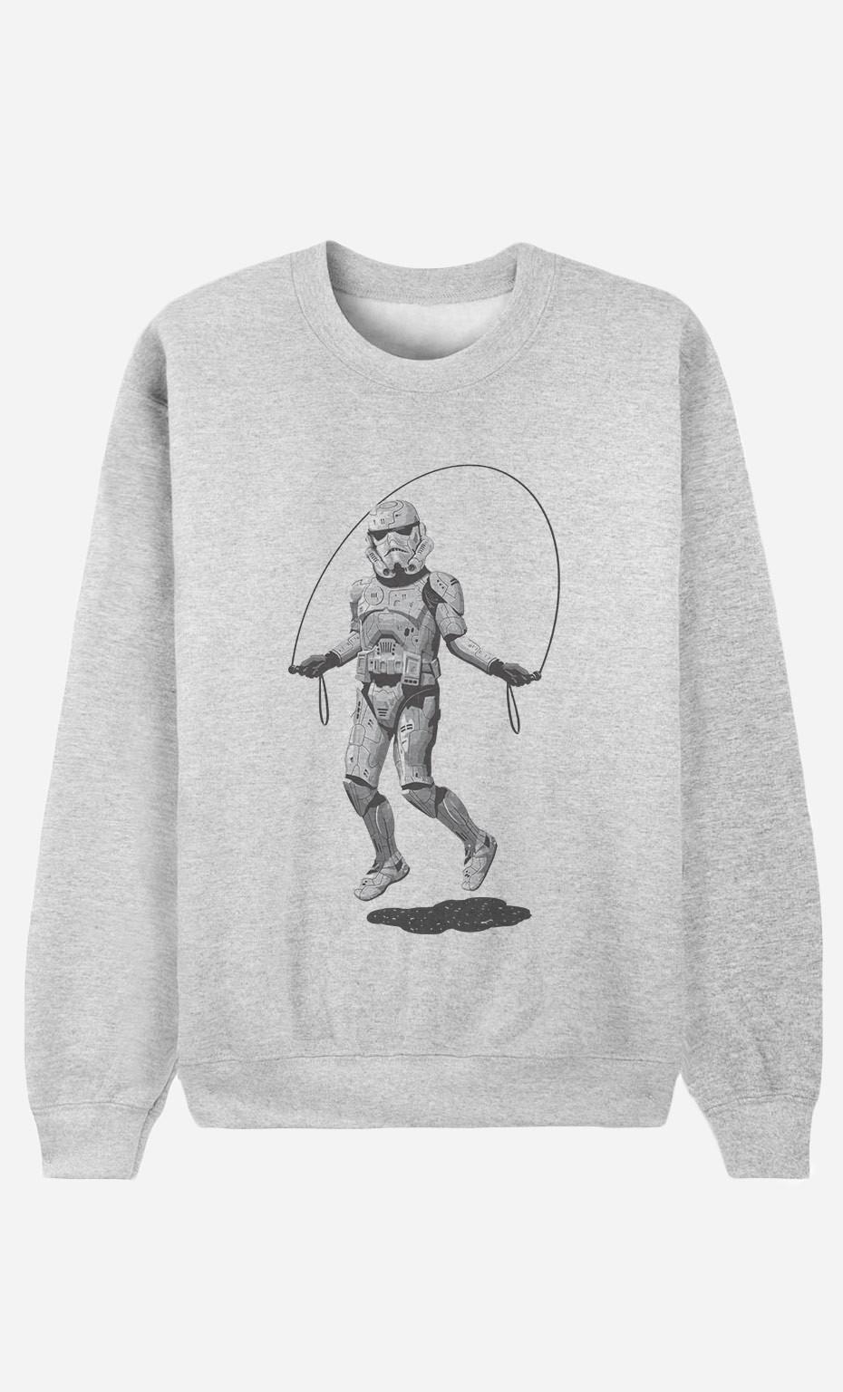 Sweatshirt Stormtrooper Skipping