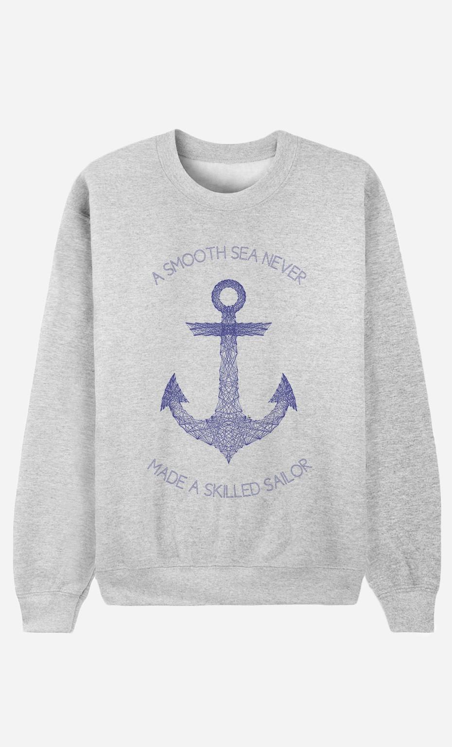 Sweatshirt Smooth Sea