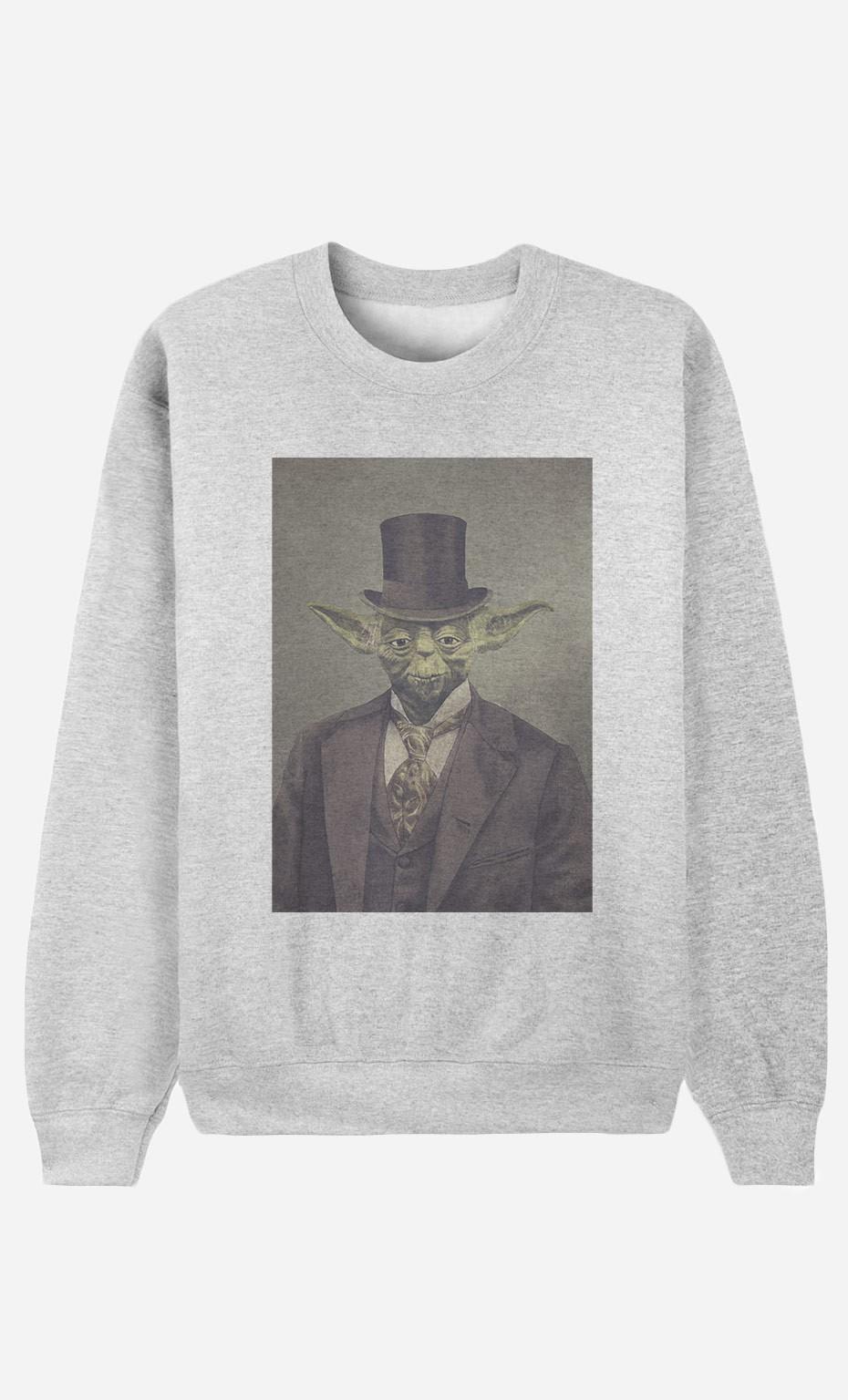 Sweatshirt Sir Yoda