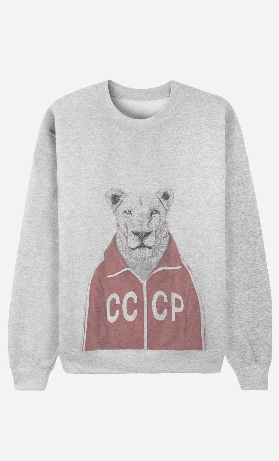 Sweatshirt Soviet Lion
