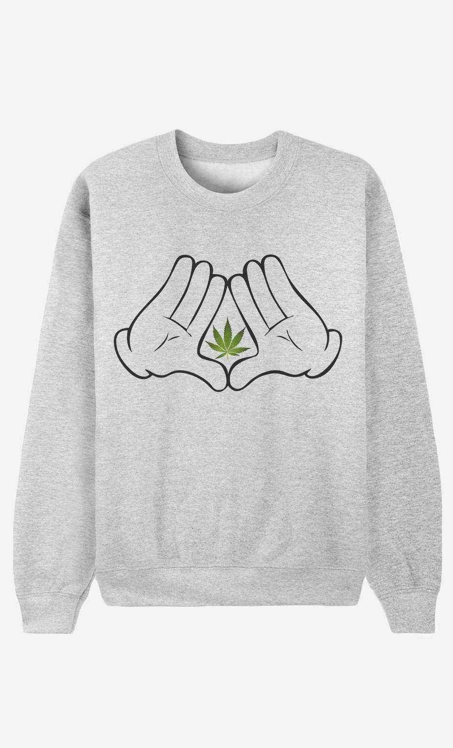 Sweatshirt Only Weed