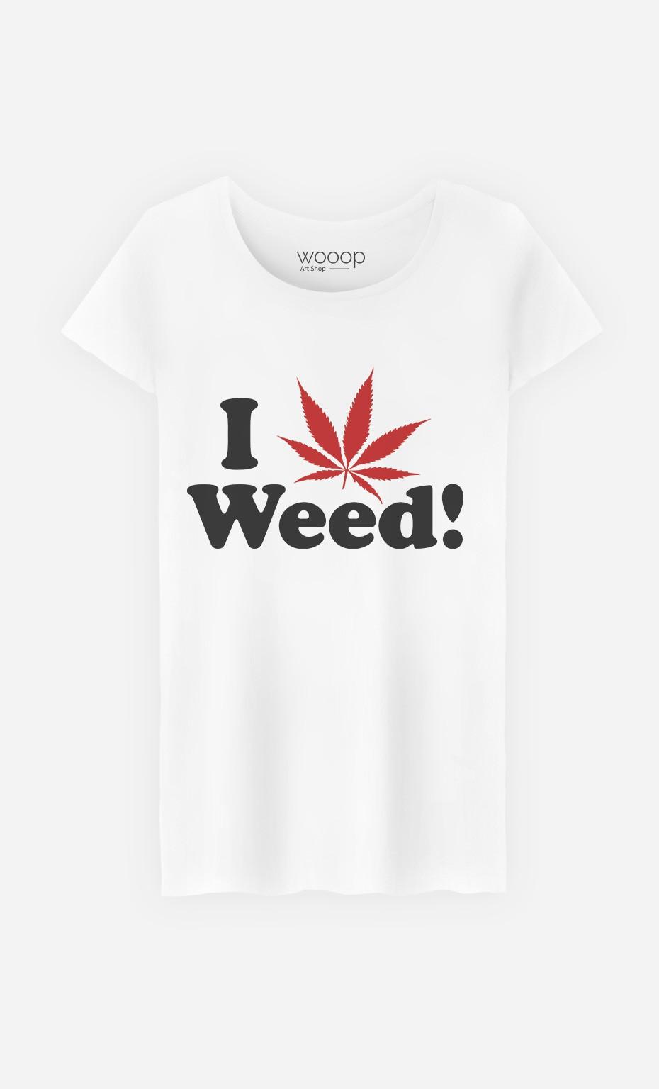 T-Shirt Love Weed