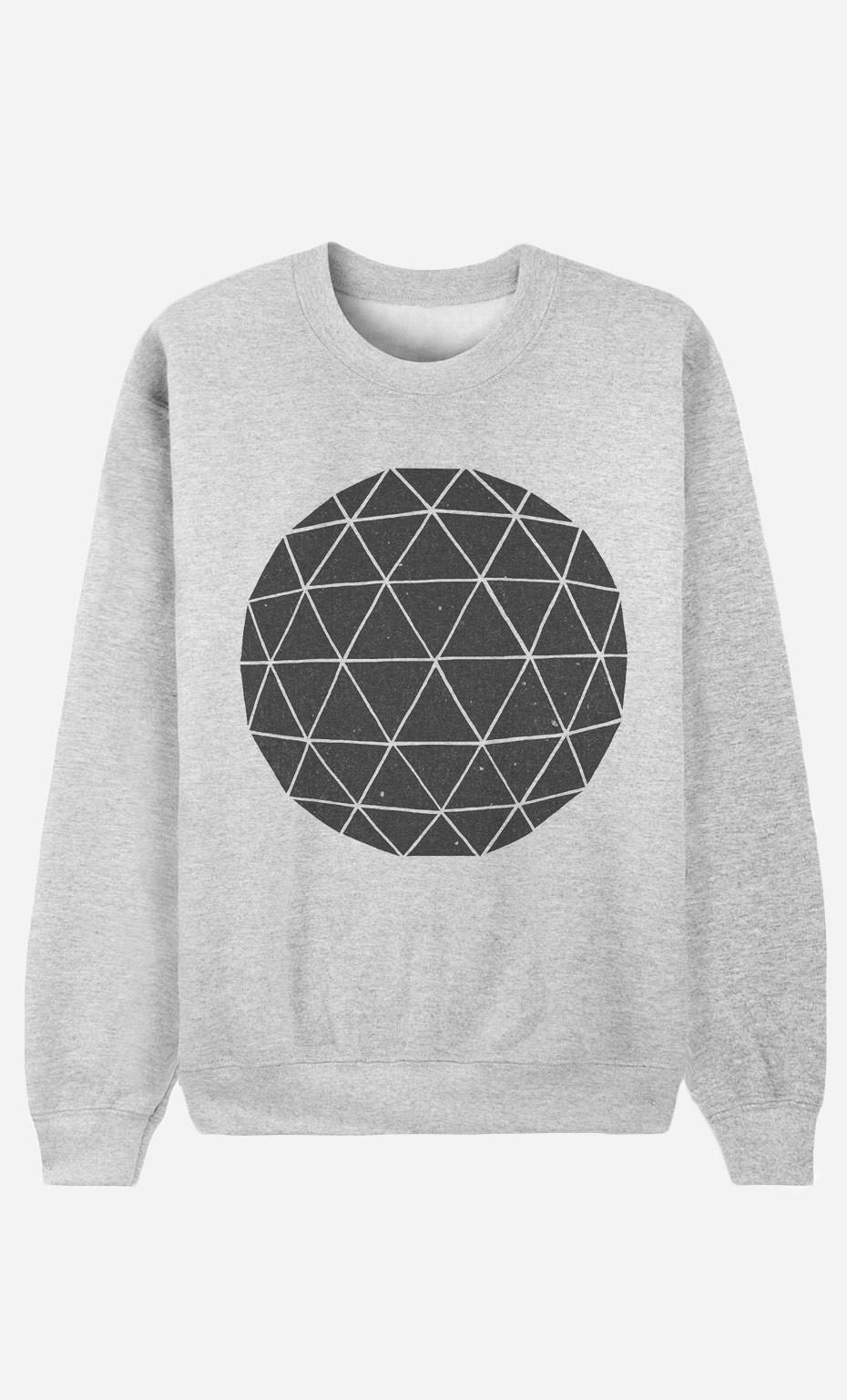 Sweatshirt Geodesic