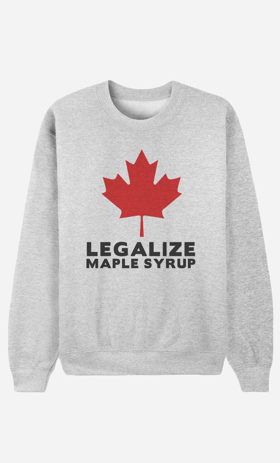 Sweatshirt Canada Legalized