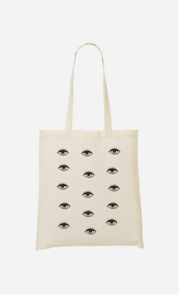 Stoffbeutel Psychedelic Eyes