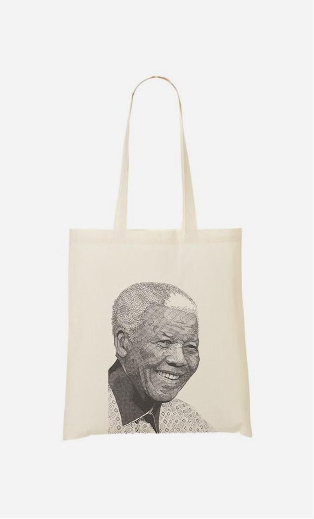 Stoffbeutel Nelson Mandela