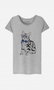 T-Shirt Hipster Cat