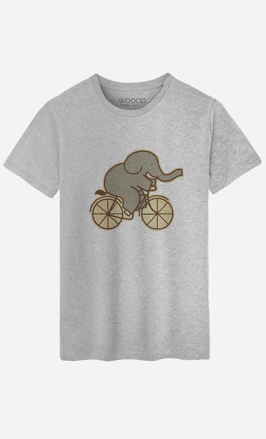 T-Shirt Elephant Cycle