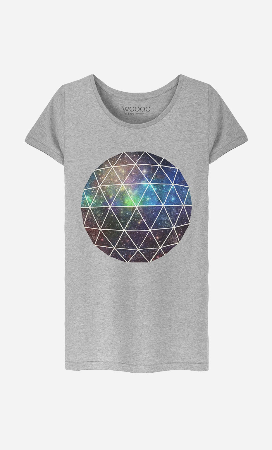 T-Shirt Space Geodesic
