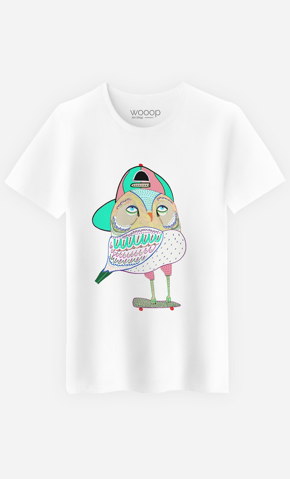 T-Shirt Awesome Owl