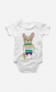 Body French Bulldog Skater