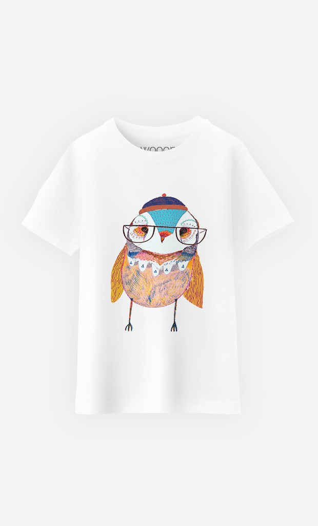 T-Shirt Bobble Hat Owl