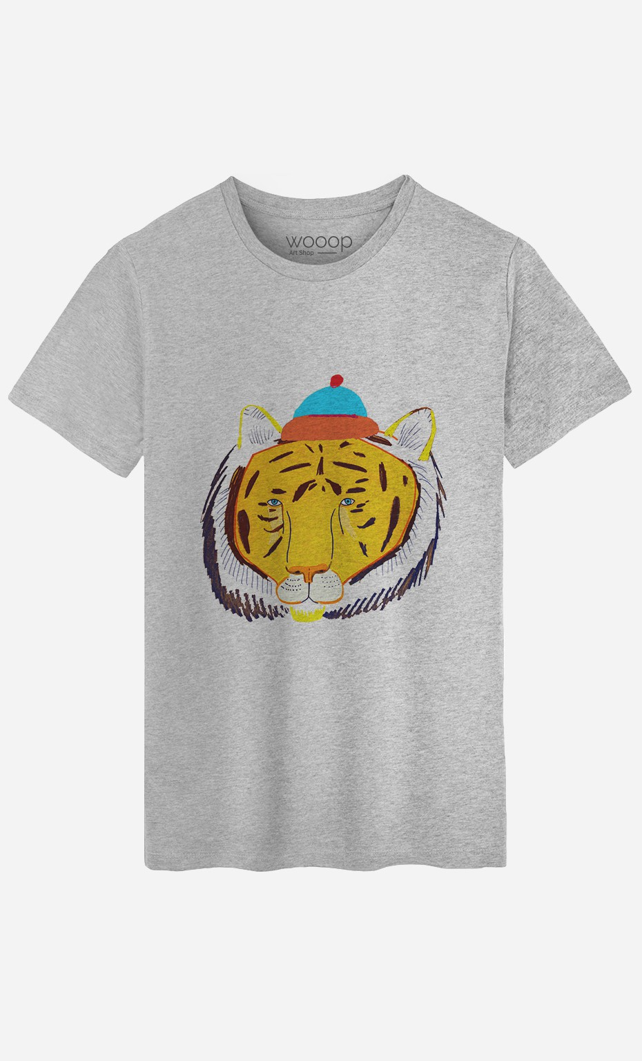 T-Shirt Tiger Head