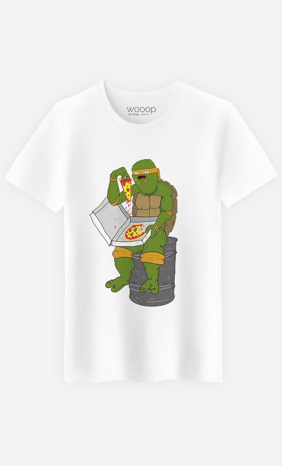 T-Shirt Pizza Turtle