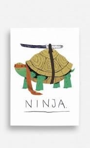 Poster Ninja Turtle