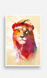 Poster Gym Lion