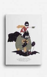 Leinwand Batman et Robin