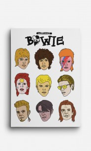 Leinwand David Bowie