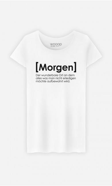 T-Shirt Morgen Definition