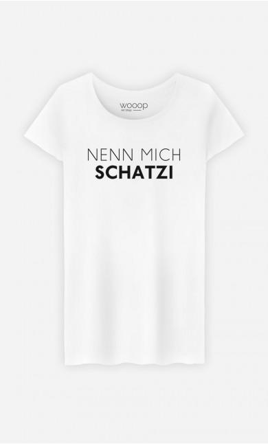 T-Shirt Nenn mich Schatzi