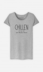 T-Shirt Grau Chillen