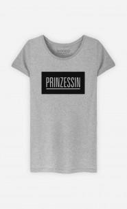 T-Shirt Grau Prinzessin