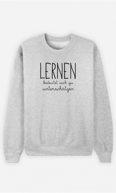 Sweatshirt Lernen